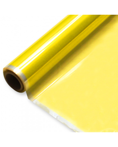 Rolls - 40'' x 500' - Yellow Transparent Color