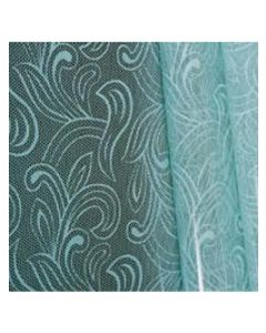 Sheets - 7 ½'' x 7 ½'' - Organza cello lace - Baby blue