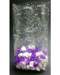 Bags - Candy Bags - 4''W x 2 ½''G x 10 ¼''H - Designs - Skylight white