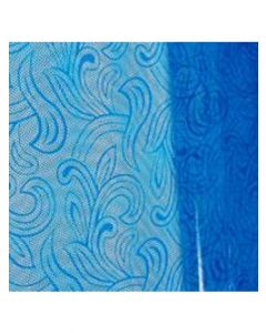 Sheets - 30'' x 40'' - Organza cello lace - Blue