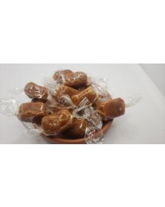 "Caramel Candy Wrappers Sheets - 4"" x 4""- Clear"