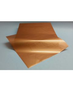 Close outs - Sheets - 7 ½'' x 7 ½'' - Opaque cooper