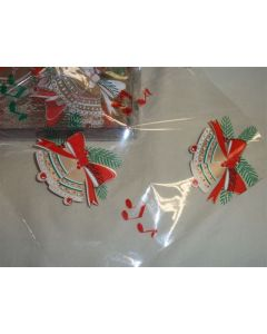 Close outs - Sheets - 7 ½'' x 7 ½'' - Christmas Bells
