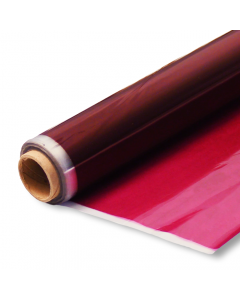 Rolls - 40'' x 100' - Cranberry Transparent Color