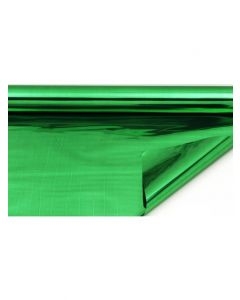 Sheets - 7 ½'' x 7 ½'' - Metallized 2 sides - Green and Green