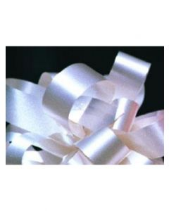 5'' Poly Embossed PullBow - Ivory