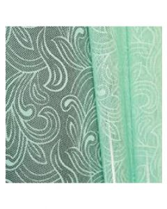 Sheets - 20'' x 20'' - Organza cello lace - Mint