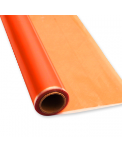 Rolls - 10'' x 100' - Orange Transparent Colors