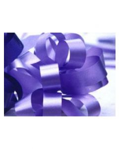 8'' Poly Embossed PullBow - Orchid