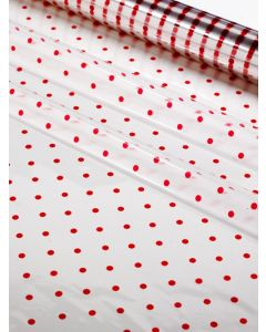 Sheets - 40'' x 40'' - Designs- Red Dots