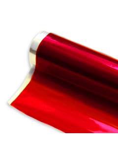 Rolls - 40'' x 500' - Red Transparent Color