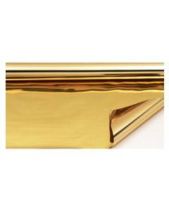 Rolls - 20'' x 100' - metallized 2 sides - Gold and Gold