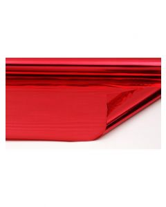 Rolls - 20'' x 100' - metallized 2 sides -  Red and Red