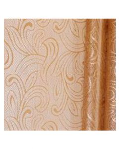 Rolls - 20'' x 100' - Organza Cello Lace -Copper