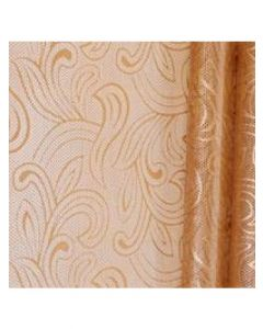 Rolls - 40'' x 100' - Organza Cello Lace - Copper