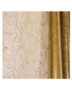 Rolls - 40'' x 100' - Organza Cello Lace - Gold