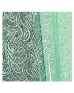 Rolls - 40'' x 100' - Organza Cello Lace - Mint
