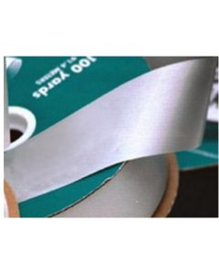 Poly Embossed Ribbon - 3/4'' x 100yd. - Silver
