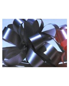 4'' Poly Embossed PullBow - Silver