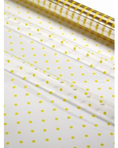 Sheets - 40'' x 40''  - Designs - Small Yellow Dots