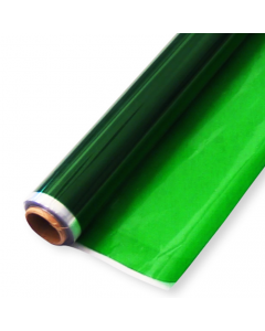 Rolls - 10'' x 100' - Green Transparent Colors
