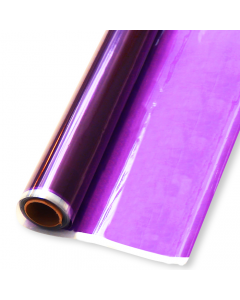 Rolls - 10'' x 100' - Purple Transparent Colors