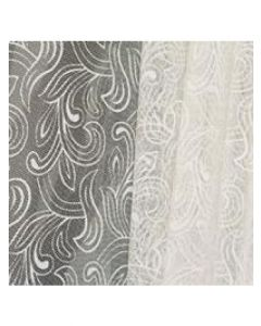 Sheets - 30'' x 40'' - Organza cello lace - White
